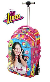 Soy Luna Set Sac À Dos Scolaire Trolley Xxl School Case Titulaire Breakfast Set Girl Child