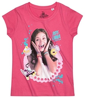 Disney Soy Luna Fille Tee-shirt 2016 Collection - Fushia
