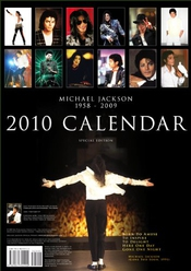 Calendrier Michael Jackson Official 2010 [special Edition]