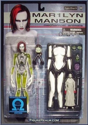 Marilyn Manson Mechanical Animals Fewture Models Action Figure Series Fa-mo2 By Rock And Roll