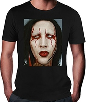 Marilyn Manson Portrait T-shrit