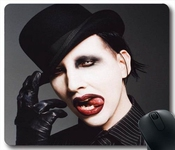 Marilyn Manson P54w8o Gaming Mouse Pad/tapis De Souris,custom Mousepad