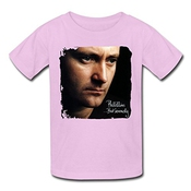 Kid's Phil Collins But Seriously Poster T-shirts Noir Xxxx-l