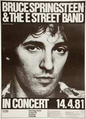 Bruce Springsteen Reproduction Concert Photo Affiche 40x30cms