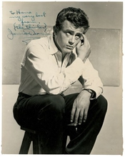 James Dean Autographe Imprimé Photo Brillant