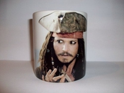 Johnny Depp Pirates Of The Caribbean Mug Cup By Filmcell Factory Ltd