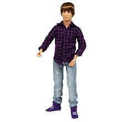 Justin Bieber Real Hairstyle Doll - Purple Plaid Shirt By Bravado (english Manual)