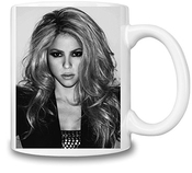 Glamour Shakira Portrait Tasse Coffee Mug Ceramic Coffee Tea Beverage Kitchen Mugs By Genuine Fan Merchandise