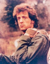 Sylvester Stallone As John J. Rambo From First Blood #5 - Photo Cinématographique En Couleur - Standard - 25x20cm