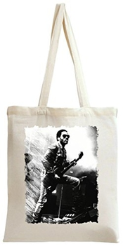 Lenny Kravitz Illustration Sac à Main Tote Bag Shoulder Messenger Shopping Gym Leisure Bags By Genuine Fan Merchandise
