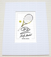 Mounted Rafael Nadal Rafa Tennis World Champion Wimbledon Signed 10x8 Inch Mount With Printed Autograph Photo Print Photograph Autographed Poster Jersey Shirt Gift Present Xmas Christmas Birthday By Www.mountedgifts.co.uk
