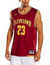 Adidas Nba Replica Cleveland Cavaliers Lebron James Maillot Sans Manches Homme