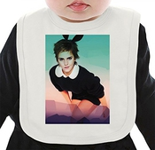 Emma Watson Cute Bunny Bavoir Organique Medium