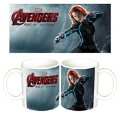 Los Vengadores 2 The Avengers 2 Age Of Ultron Black Widow Scarlett Johansson Tasse Mug