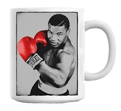 Mike Tyson Boxer Red Gloves Mug Cup