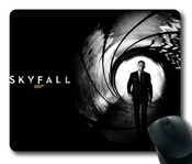 Movies Daniel Craig Skyfall James Bond Movies Theme Mouse Pad, Rectangle Mousepad Designed By The Micase