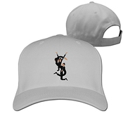 Hittings Unisex Ysl Yves Saint Laurent Saint Cotton Snapback Baseball Cap Hip Hop Hats Ash