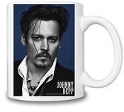 Johnny Depp Portrait Tasse