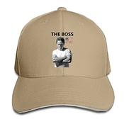 Hittings Bruce Springsteen Sandwich Peaked Hat/cap Natural