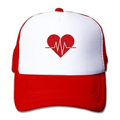 Xcarmen Black Enrique Iglesias Heart Attack S And Love Fitted Hats Strapback Hats Red