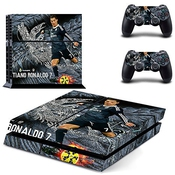 Ps4 Sticker Fc Real Madrid Cristiano Ronaldo Skin For Sony Playstation 4 System By Free Sticker