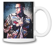 Grunge Chris Brown Tasse