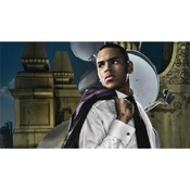 Chris Brown Poster On Silk <107cm X 60cm, 43inch X 24inch> - Affiche De Soie - B8b811