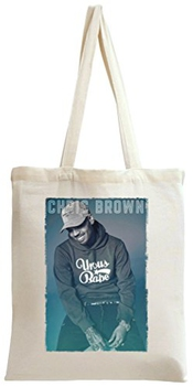 Poster Of Chris Brown Sac à Main