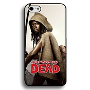 Custom Cool Michonne Poster The Walking Dead Phone Case Black Hard Plastic Case Cover For Iphone 6 Plus/6s Plus