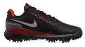 Nike Ft 14 Nm Tiger Woods Rouge/noir-taille 44 Euro Gris/us/uk 9 Chaussures De 10