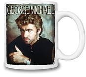 George Michael Glamour Portrait Tasse Coffee Mug Ceramic Coffee Tea Beverage Kitchen Mugs By Genuine Fan Merchandise