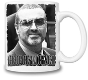 George Michael Portrait Tasse Coffee Mug Ceramic Coffee Tea Beverage Kitchen Mugs By Genuine Fan Merchandise