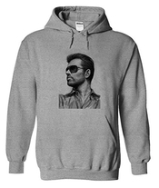 George Michael Art Drawing Capuche Chandail Sweater Sweat à Capuche Pour Homme