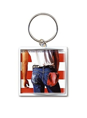 Bruce Springsteen Porte-clés Keychain Born In The Usa Nouveau Officiel Metal
