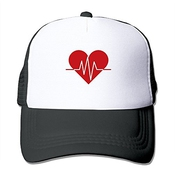 Xcarmen Black Enrique Iglesias Heart Attack S And Love Fitted Hats Strapback Hats Black
