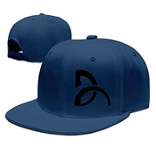 Hittings Novak Djokovic Unisex Fashion Cool Adjustable Snapback Baseball Cap Hat One Size Navy