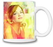 Emma Stone Beauty Colours Tasse