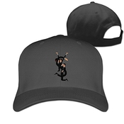Hittings Unisex Ysl Yves Saint Laurent Saint Cotton Snapback Baseball Cap Hip Hop Hats Black
