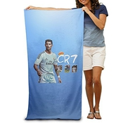 2015 Cristiano Ronaldo Cr7 Real Madrid Uefa 31.551pool Beach Towel By Wyaozhici