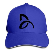 Yhsuk Novak Djokovic Sandwich Peaked Hat/cap Royalblue