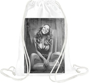 Mariah Carey Sexy Portrait Drawstring Bag