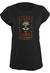 Urban Classics Ladies T-shirt Selena Gomez Kill Em Skull
