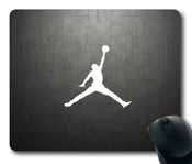Michael Jordan Jumpman Logo Sport Mouse Pad, Customized Rectangle Mousepad Diy By Bestsellcase