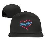 Hittings Britney Spears Unisex Fashion Cool Adjustable Snapback Baseball Cap Hat Black