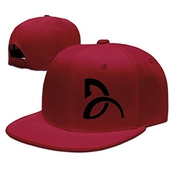 Hittings Novak Djokovic Unisex Fashion Cool Adjustable Snapback Baseball Cap Hat One Size Red