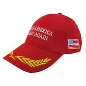 Imixcity Unisex Donald Trump Hap Make America Great Again Embroidered Adjustable Cap Baseball 2016 Us Election Hat