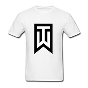 Flip Rings Men's Tiger Woods Logo T Shirt S