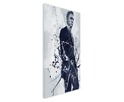 Paul Sinus Art Daniel _ Craig Art _ James _ Bond _ _ 90 x 60 de Sa Décoration Murale Toile, 90 x 50 x 3 cm Multicolore