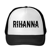 Feruch Rihanna Anti World Tour 2016 Logo Printing Mesh Sun Caps Snapback Hats Black