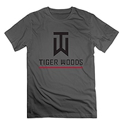 Men's Tiger Woods Pag 2015 Galf Champions Logo T-shirt -white